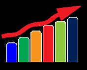 statistics-bar-chart-and-arrow